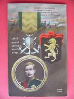 BELGIQUE Roi Albert 1er L'union Fait La Force Liège Namur Anvers Nieuport Ypres Belgium WW1 14 18 - Patriotic