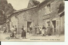 70 - Haute Saone - Confracourt - Boulangerie - J.Mortier - Rue Du Rupt - Animée - - Other Municipalities