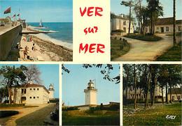 14 - Ver Sur Mer - Multivues - CPM - Voir Scans Recto-Verso - Otros Municipios