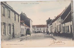 Vilvoorde - Nieuwstraat (gekleurde Versie)(Hoffmann)(gelopen Kaart Van Voor 1900 Met Zegel) - Vilvoorde