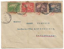 (C01) - HAITI - COVER - P AU P => PETIT GOAVE 1928 - FANCY COMMEMORATIVE CANCELLATION LINDBERGH - Haiti