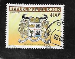 TIMBRE OBLITERE DU BENIN DE 2017 NON REPERTORIE - Benin – Dahomey (1960-...)