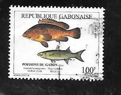 TIMBRE OBLITERE DU GABON DE 1999 N° MICHEL 1480 - Gabon (1960-...)