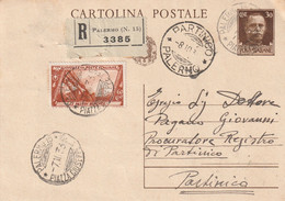 Cartolina Postale - Raccomandata - 60 Cent - Marcofilie