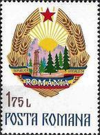 1976 - ROMANIAN COAT OF ARMS - Neufs