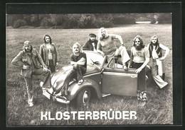 AK Musiker Der Band Klosterbrüder An Einem Auto - Music And Musicians