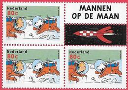 NVPH C-437 Uit PB 59 - 1999 - Vijf Van Kuifje (Tintin) - Unused Stamps
