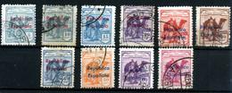 Sahara Español Nº 36B/45B. Año 1932 - Sahara Spagnolo