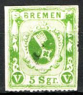 Germania Brema 1861 Unif.9 O/Used F - Brême
