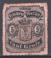 Germania Brema 1861 Unif.7 (*)/MNG F - Brême