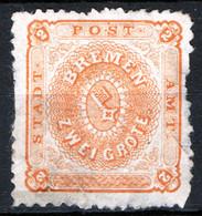 Germania Brema 1866 Unif.10 (*)/MNG  F - Brême