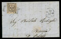 Modena - 25 Cent (4) Su Lettera Da Reggio A Brescia Del 28.3.59 - Chiavarello - Non Classificati