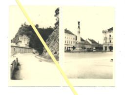 2 AK Znaim - Fotokarten - Privatfotos - 1939 - Postkartenformat - Czech Republic