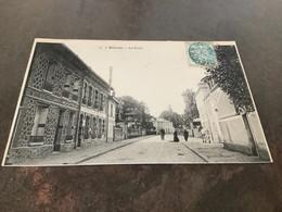 Carte Postale Blanc Mesnil La Poste - Bievres