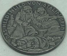 RÉPLICA Medalla Batalla De Stalingrado, Rusia, Febrero 1943. Alemania. II Guerra Mundial. - Duitsland