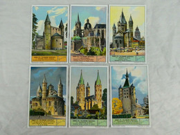 Liebig Chromo - Domes De L'Allemagne Medievale (1-6) - 1935 - Liebig