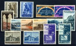 Italia Nº 658/9, 660/1, 664/9, 670/3. Año 1953/54 - 1946-60: Nuevos