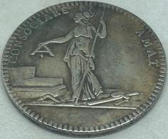 RÉPLICA Jetón Francmasonería. Siglo XIX. Logia Amigos De La Libertad, Francia. Rara. - Avant 1871