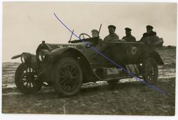 Allemande   Photo -  Deutscher Kommandowagen Automobil  - Offiziere  .WWI 1.WK - 1914-18