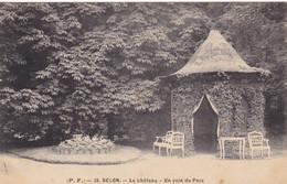 BECON - Le Château - Un Coin Du Parc - Otros Municipios