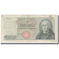 Billet, Italie, 5000 Lire, 1964, 1964-09-03, KM:98a, TB - 5000 Liras