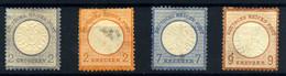 Alemania Imperio Nº 17, 21, 23/4 Año 1872 - Neufs