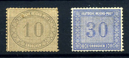 Alemania Imperio Nº 26/7 Año 1872 - Neufs