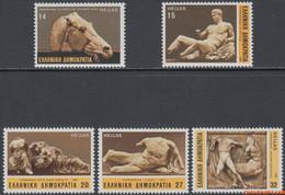 Griekenland 1984 - Mi:1546/1550, Yv:1524/1528, Stamp - XX - Parthenon Marbles - Unused Stamps