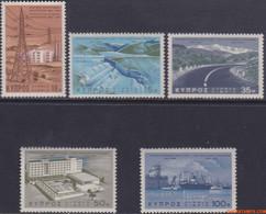 Cyprus 1967 - Mi:287/291, Yv:279/283, Stamp - XX - First Development Plan - Nuovi