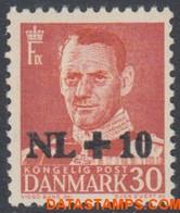 Denemarken 1953 - Mi:339, Yv:345, Stamp - XX - Flood Relief The Netherlands - Nuevos