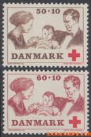 Denemarken 1969 - Mi:488/489, Yv:497/498, Stamp - XX - Red Cross - Nuevos