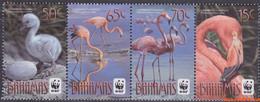 Bahamas 2012 - Mi:1443/1446, Yv:1438/1441, Stamp - XX - Wwf Flamingo - Bahamas (1973-...)