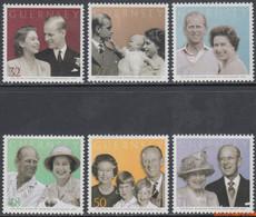 Guernsey 2007 - Mi:1145/1150, Yv:1154/1159, Stamp - XX - Elisabeth II Prince Philip - Guernsey