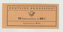Bundesrepublik Deutschland - 1963 - Markenheftchen Mi. 9 (ungeoeffnet) ** (2363) - Blocchi