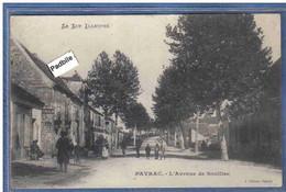 Carte Postale 46. Payrac  Avenue De Souillac Trés Beau Plan - Otros Municipios