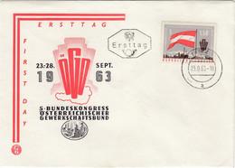 ÖSTERREICH 1963 - MiNr. 1132 FDC - FDC
