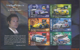 Guernsey 2006 - Mi:BL 42, Yv:BL 59, Block - XX - Car Race Andy Priaulx - Guernsey