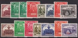LOTE 1931 Republica Española  MH* 2 Fotos - 1931-50 Nuovi