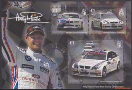Guernsey 2008 - Mi:BL 46, Yv:BL 63, Block - XX - Car Race Andy Priaulx - Guernsey