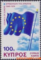 Cyprus 1975 - Mi:424, Yv:419, Stamp - XX - Council Of Europe - Nuovi