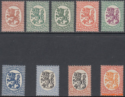 Finland 1927 - Mi:128/137, Yv:124/133, Stamp - XX - Long-term Series Coats Of Arms - Unused Stamps