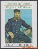 België 1990 - Mi:2417, Yv:2365, OBP:2365, Stamp - □ - Day Of The Stamp Vincent Van Gogh - No Dentado