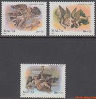 Malta 1989 - Mi:827/829, Yv:806/808, Stamp - XX - Christmas - Malta
