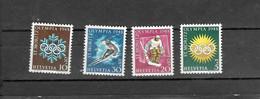 Olympische Spelen 1948 , Zwitserland - Zegels  Postfris - Inverno1948: St-Moritz