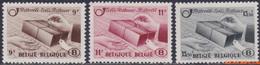 België 1946 - Mi:postpakket 27/29, Yv:CP 301/303, OBP:TR 301/303, Railway Stamps - XX - Postal Package Stamps - 1942-1951