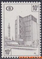 België 1968 - Mi:eisenbahn 344, Yv:CP 398, OBP:TR 399, Railway Stamps - XX - Penalty Stamp Convention Station Brussels - 1952-....