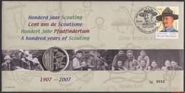 België 2007 - Mi:3681, Yv:3616, OBP:3633, Nummisletter - O - Europe 2007 Scouts - Numisletters