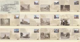 België 2012 - OBP:BK 223/233, Postcard - XX - Then And Now - Tarjetas Ilustradas