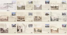 België 2014 - OBP:BK 245/255, Postcard - XX - Then And Now - Tarjetas Ilustradas