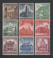 GERMANY 1940 Mi 751-759 WINTER HELP MNH ** - Nuevos